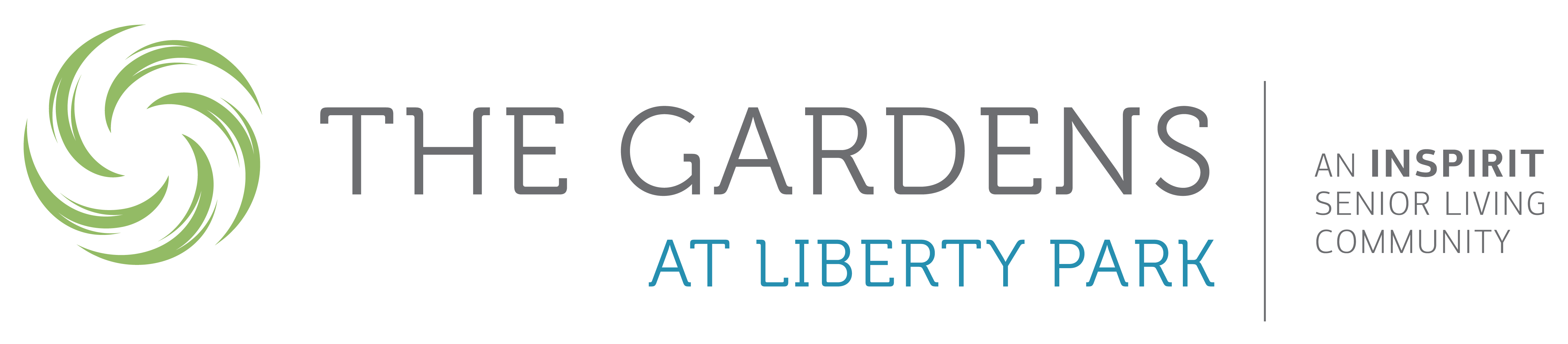 The Gardens at Liberty Park logo