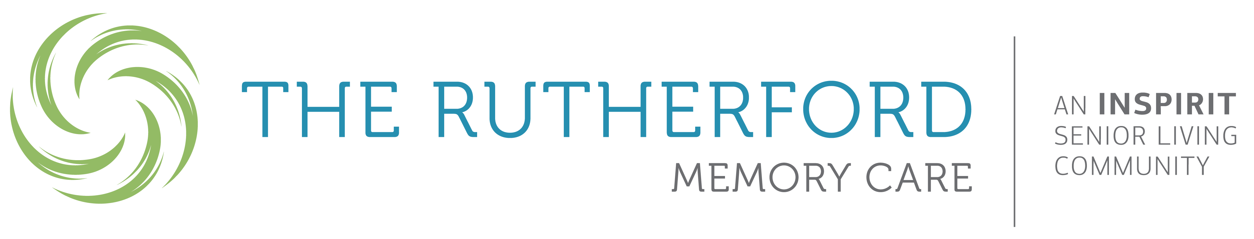 The Rutherford Memory Care logo