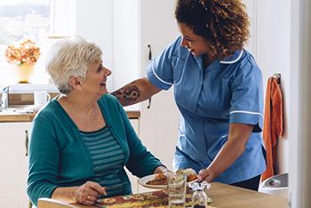 Inspirit Senior Living Assisted Living dining
