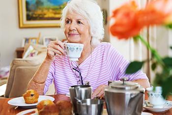 Inspirit Senior Living Independent Living dining.