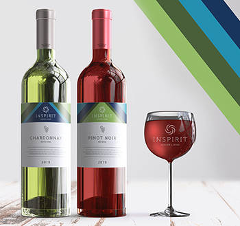 Inspirit Senior Living wine