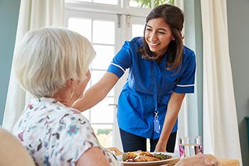Inspirit Senior Living Memory Care dining