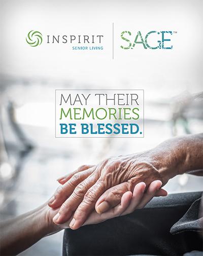 Inspirit Senior Living, SAGE program cover