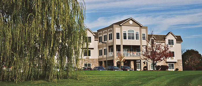The Willow, an Inspirit Senior Living community