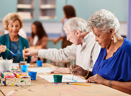 Inspirit Senior Living - art events